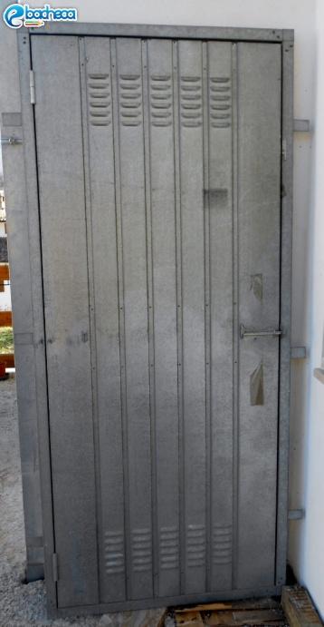 Anteprima Porte in ferro zincato