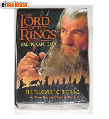 Anteprima Card game the lord of the