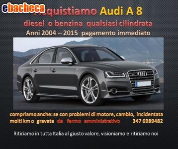 Anteprima Cerco acquisto Audi A8