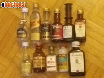 Anteprima Mini-bottiglie di liquore
