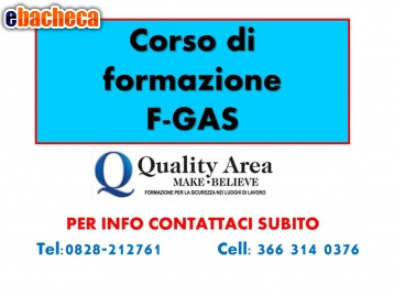 Anteprima Patentino Fgas
