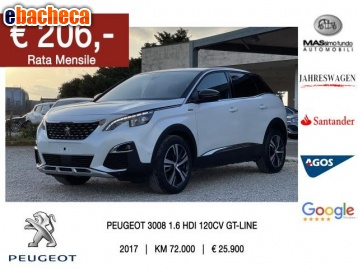Anteprima Peugeot 3008 Bluehdi 120…