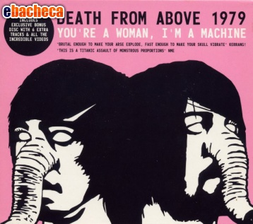Anteprima Cd death from above 1979