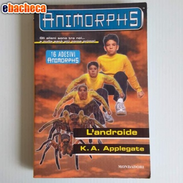 Anteprima Animorphs - L'androide