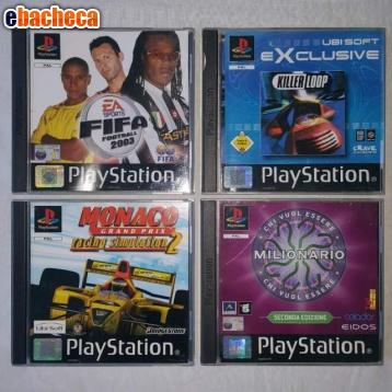 Anteprima Giochi PS1 originali