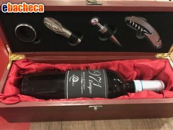 Anteprima Cofanetto vino in legno