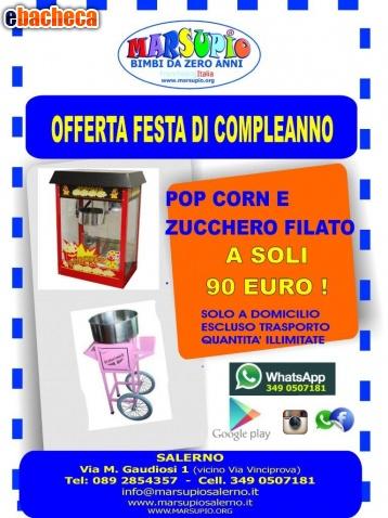 Anteprima Pop corn e Zucc.filato
