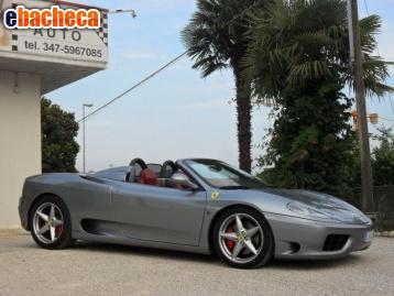 Anteprima Ferrari 360 Spider F1 -…