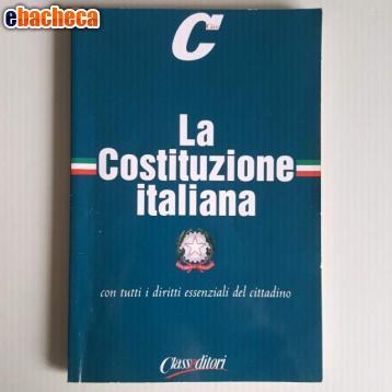 Anteprima La Costituzione Italiana