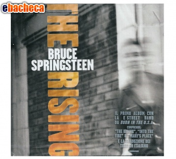 Anteprima Cd bruce springsteen the