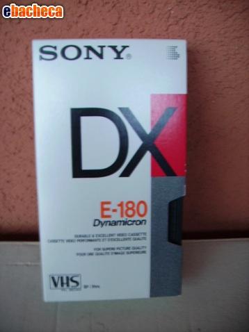 Anteprima Cassette vhs Sony 180