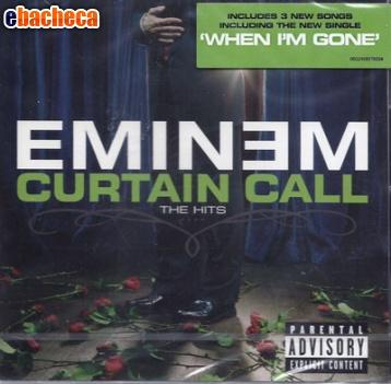Anteprima Cd eminem curtain call..
