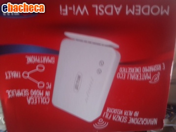Anteprima Modem adsl 2+ wi-fi telec