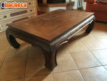 Anteprima Tavolino indiano in teak