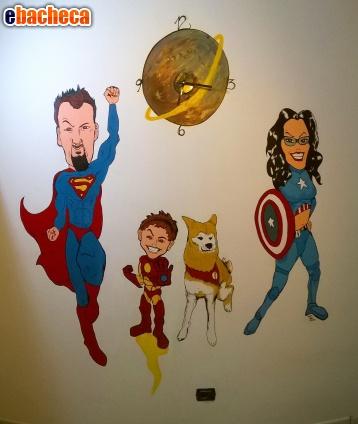 Anteprima Dipinti su parete