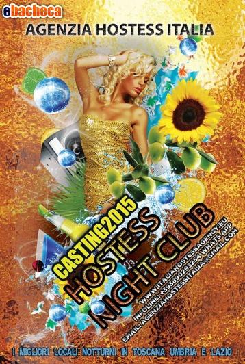 Anteprima Hostess cerco night clubr