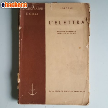 Anteprima L'Elettra - Sofocle