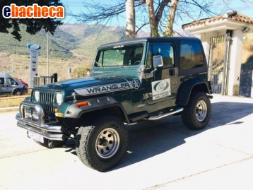 Anteprima Jeep Wrangler 4.0 185cv…