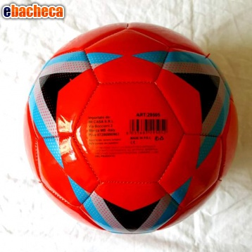 Anteprima Pallone in cuoio - Rosso