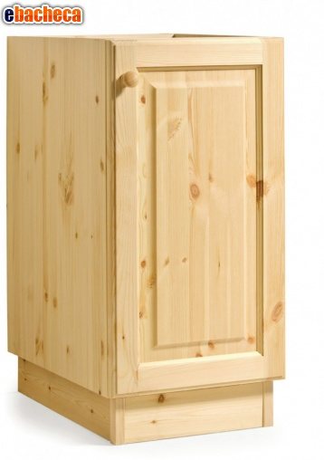 Anteprima Cucina rustica legno pino