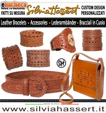 Anteprima Genuine leather cuffs