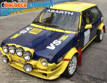 Anteprima Fiat Ritmo 75 Rally