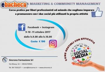 Anteprima Corso Social Media mrktg
