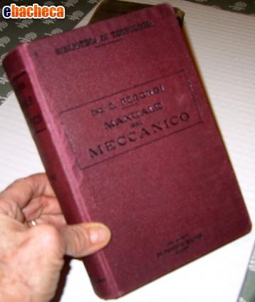 Anteprima Manuale meccanico del '25