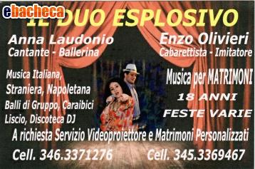 Anteprima il Duo Esplosivo Show