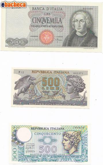 Anteprima Lire: banconote rare