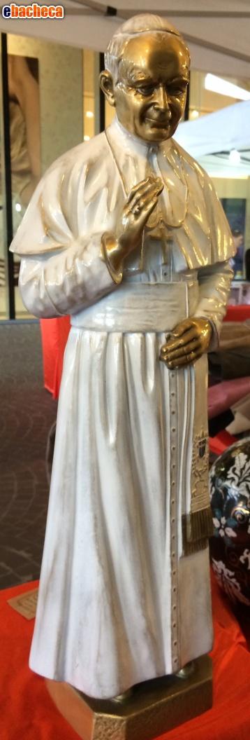 Anteprima statua Giovanni paolo II