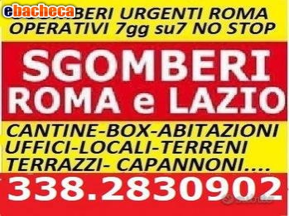 Anteprima Sgomberi Economici Roma