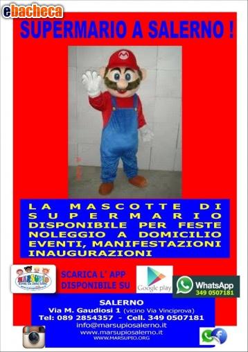 Anteprima mascotte Super Mario Bros
