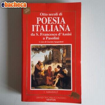 Anteprima Otto secoli di poesia