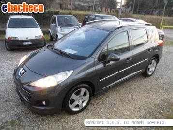 Anteprima Peugeot 207 sw 1.6 bz…