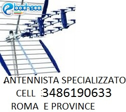 Anteprima Roma elettricista antenni