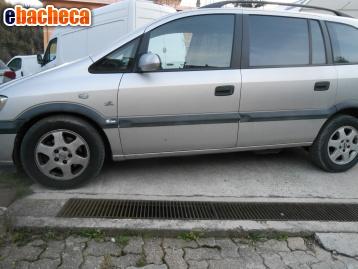 Anteprima Opel Zaffira benz/metano