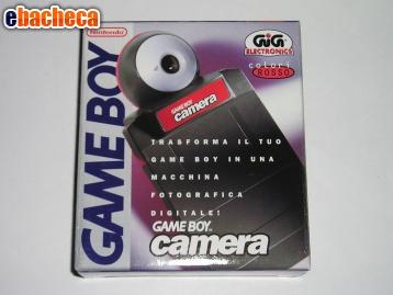 Anteprima Game boy camera nintendo