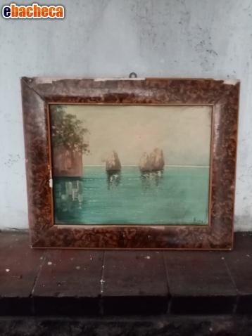Anteprima Antica coppia di quadri