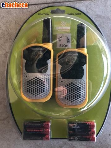 Anteprima Coppia walkie-talkie