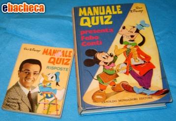 Anteprima Manuale W.Disney anni '70
