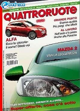 Anteprima Quattroruote riviste