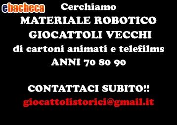 Anteprima Compro Robot giochi 70 80