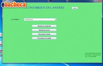 Anteprima Software per cantieri