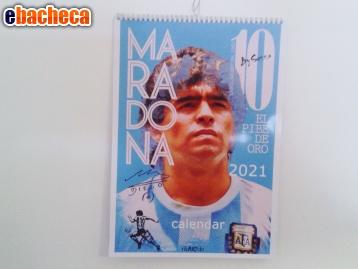 Anteprima Calendario Maradona 2021