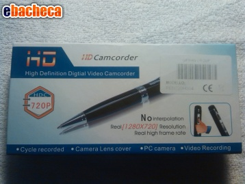 Anteprima Spy pen microcamera HD