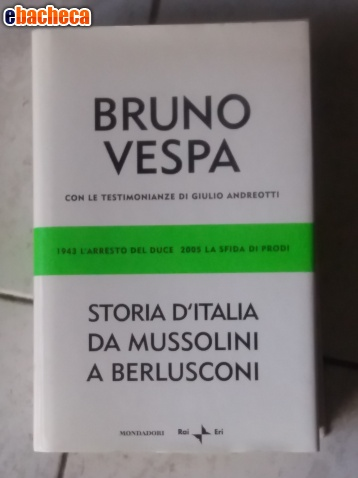 Anteprima Bruno Vespa storia Italia