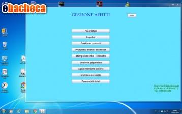 Anteprima Software per affitti
