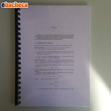 Anteprima Teoria Algebra Lineare