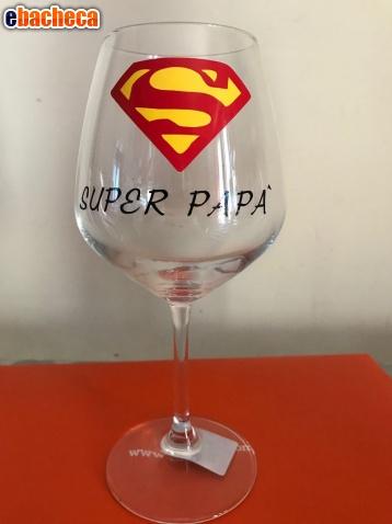 Anteprima Calice vino Super Papà